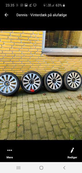 fælg og hjul størrelse oktavia