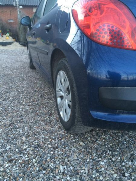 Peugeot 207 bagbro - hvad kan der være galt?