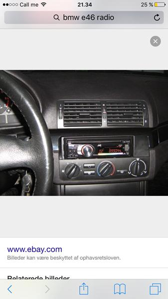bmw e46 2 din radio skrevet af audi a4. Black Bedroom Furniture Sets. Home Design Ideas