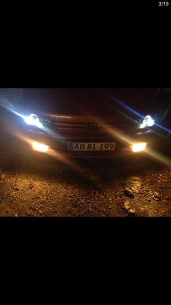Tågelygter Peugeot 306 ph1