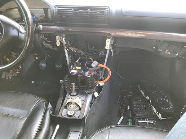 Afmontering af instrument bord A4 b5