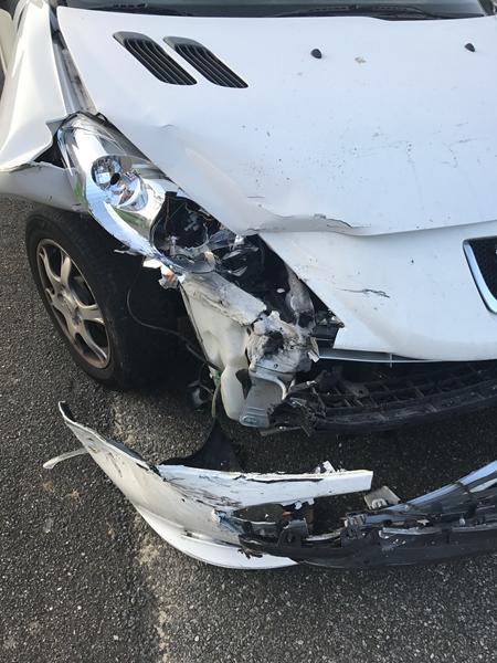 hvornår er en bil totalskadet
