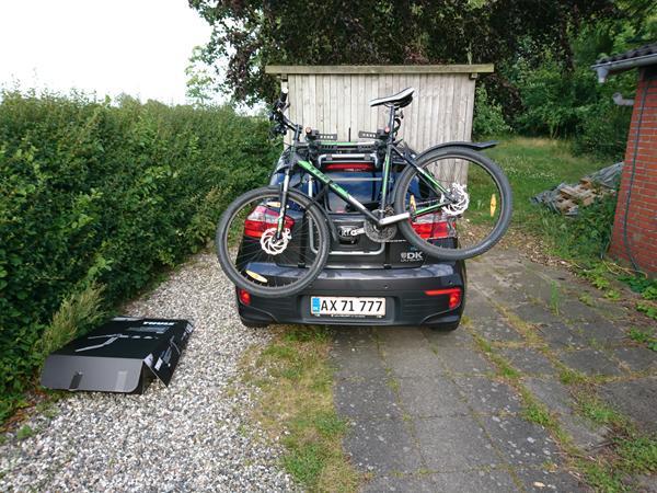 Splinternye Cykel på bagklap uden lygtebom. Hurtigt spørgsmål - Skrevet af ML-88