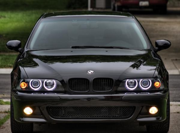 US Light på BMW E39