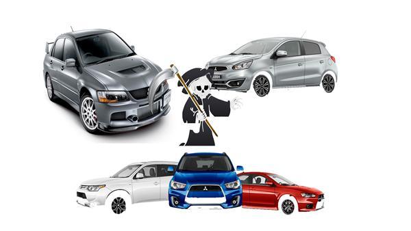 Mitsubishi: fra popularitet til fald.