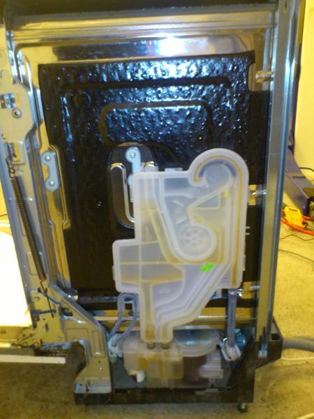 vaskemaskine tager vand ind og stopper
