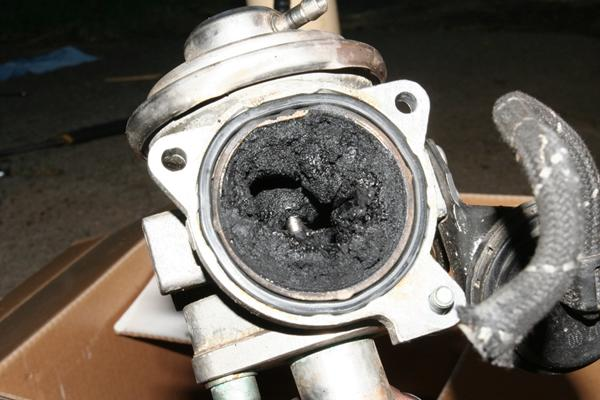 lukning af egr ventil