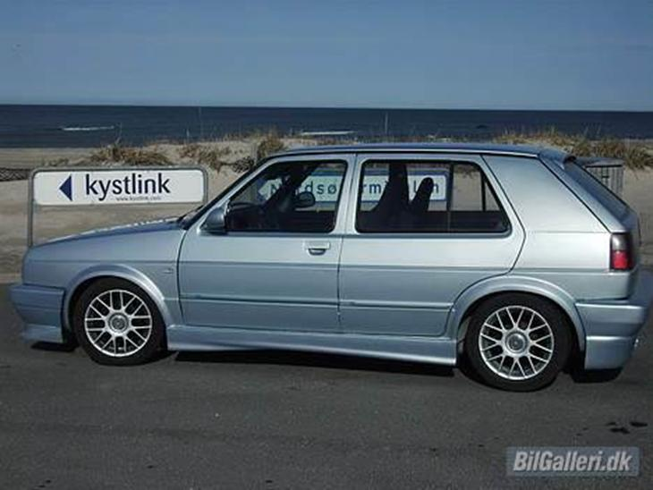vw golf ii 1 6 turbo diesel 1986 der er nye b re arme. Black Bedroom Furniture Sets. Home Design Ideas
