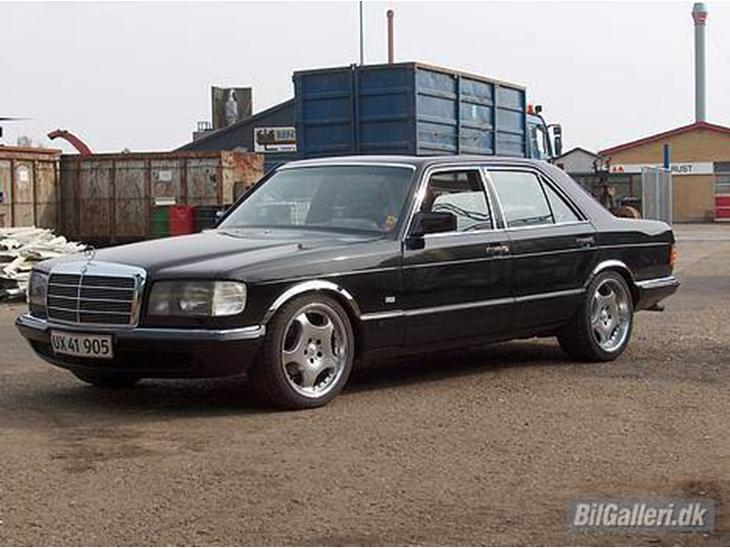 Mercedes benz 280 se 1983 bilen er blevet totalt renove for Mercedes benz text