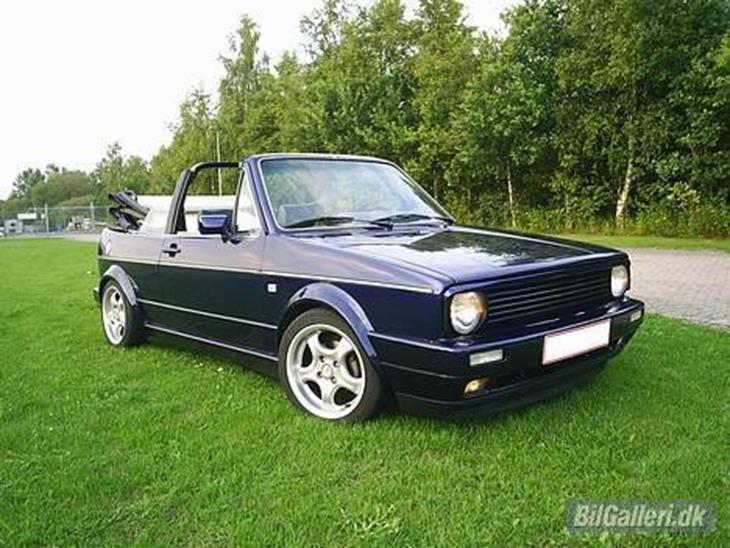 vw golf 1 cabriolet solgt 1982 impoteret fra. Black Bedroom Furniture Sets. Home Design Ideas
