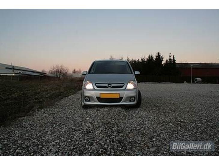 Opel Meriva OPC, 2006 Kommende modifikationer (i kr...