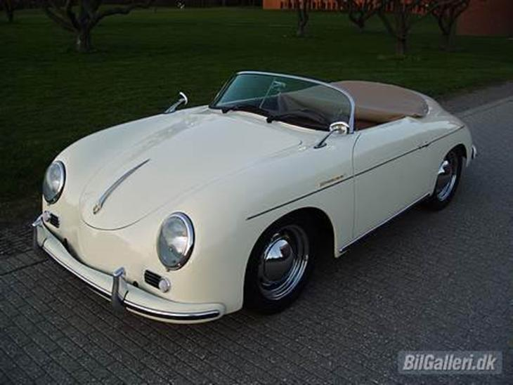 porsche 356 speedster replica so 1957 bilen er en. Black Bedroom Furniture Sets. Home Design Ideas