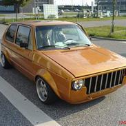 VW golf 1 solgt