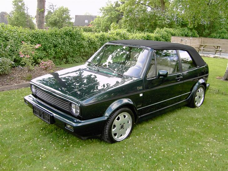 vw golf 1 cabriolet solgt 1991 model classic line. Black Bedroom Furniture Sets. Home Design Ideas