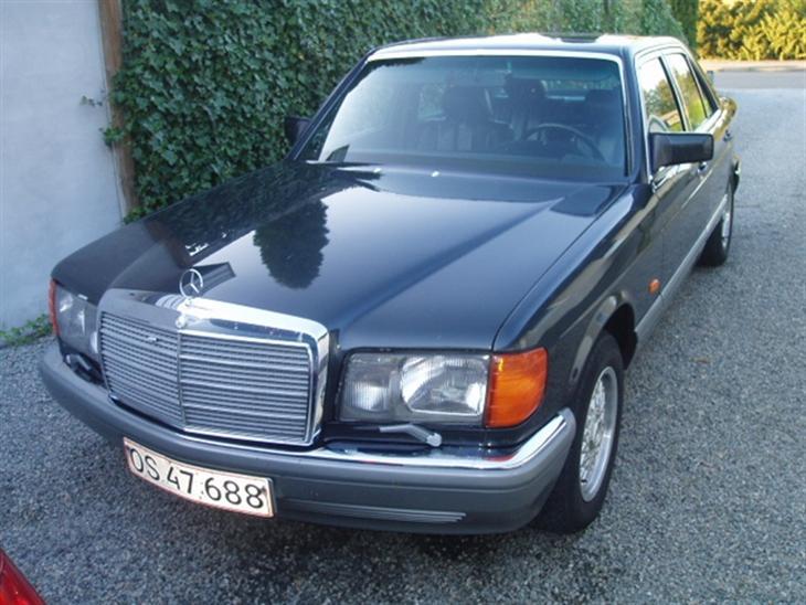 mercedes benz 280 se w126 solgt 1985 bilen blev k bt. Black Bedroom Furniture Sets. Home Design Ideas
