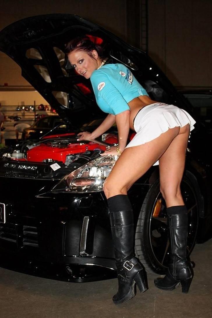 Nissan 350Z - Black Thunder - Naughty! Foto af S.Lykke: Fredericia - Fast & Furious Carshow 2009. billede 13