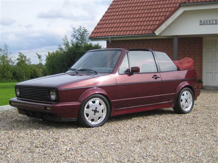 vw golf 1 cabriolet 1991 bilen er importeret fra tyskl. Black Bedroom Furniture Sets. Home Design Ideas