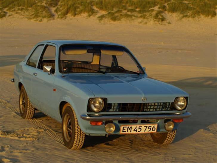 Opel Kadett C  Til Salg - som den står nu :D billede 4