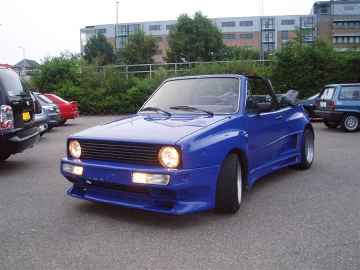 vw golf 1 cabriolet gti gto 1984 den er bygget i tyskland for. Black Bedroom Furniture Sets. Home Design Ideas