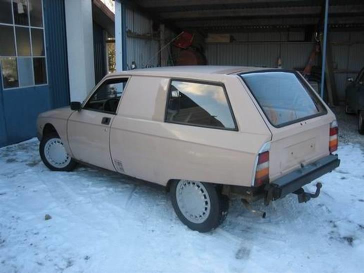 Citroën GSA Entreprise Spécial - Sådan fandt jeg den i 2006 billede 14