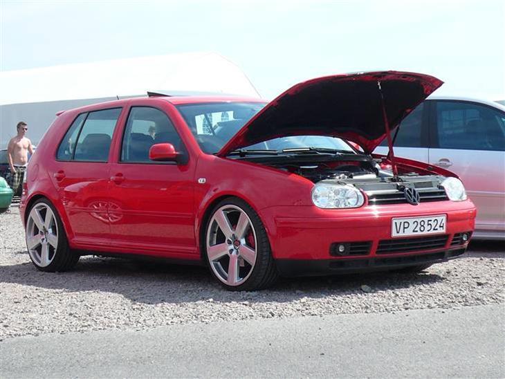 74a5fdc9c VW Golf 4 GTI Solgt - 1998 - 2 plads ved club golf træf 20...