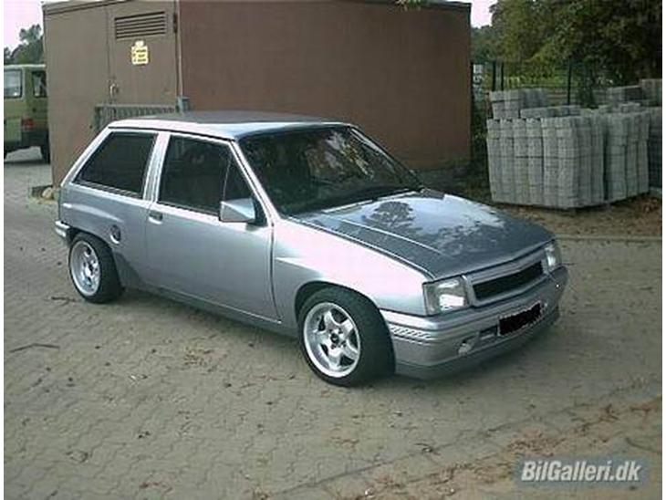 opel corsa a gsi 2 0 16v c20xe 1989 bilen er solgt. Black Bedroom Furniture Sets. Home Design Ideas