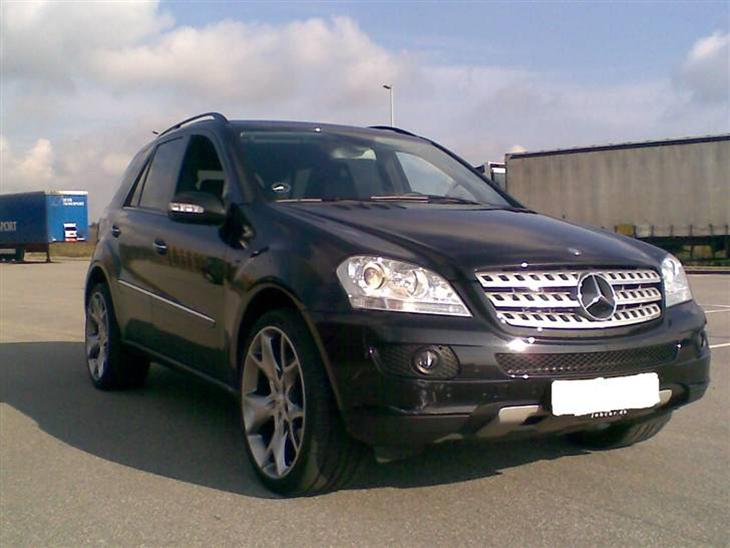 mercedes benz ml 320 cdi 4 matic solgt 2007 bilen skal udelukkende bruges. Black Bedroom Furniture Sets. Home Design Ideas