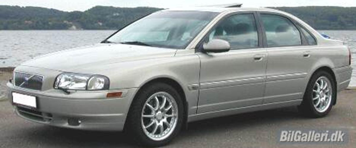 volvo s80 t6 bsr 1999 bilen er importeret fra tyskl. Black Bedroom Furniture Sets. Home Design Ideas