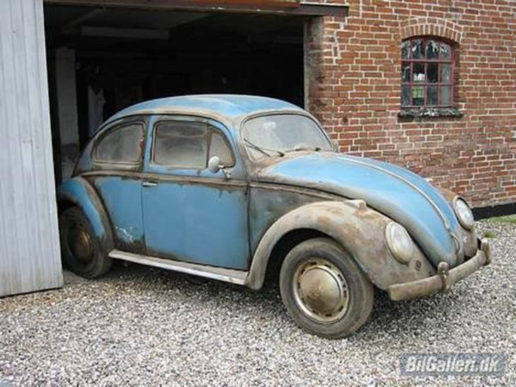 VW 1200 de luxe - 1955 - Bilen trænger til en kærlig h...