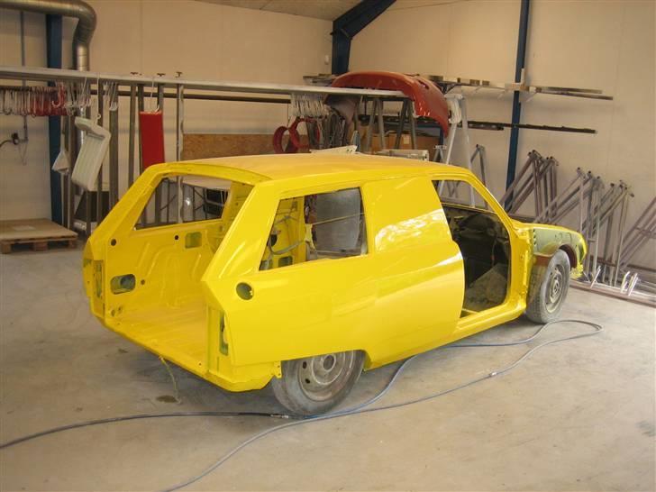 Citroën GSA Entreprise Spécial - Så er den færdiglakeret, og nu skal den samles.! billede 15