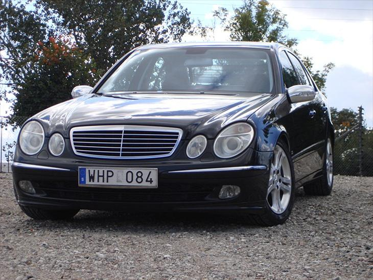 mercedes benz w211 e 270 cdi 2004 bilen har kun k rt km. Black Bedroom Furniture Sets. Home Design Ideas