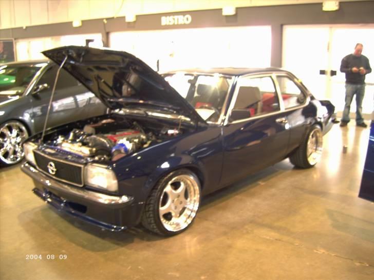 Opel ascona b c20let turbo billede 3