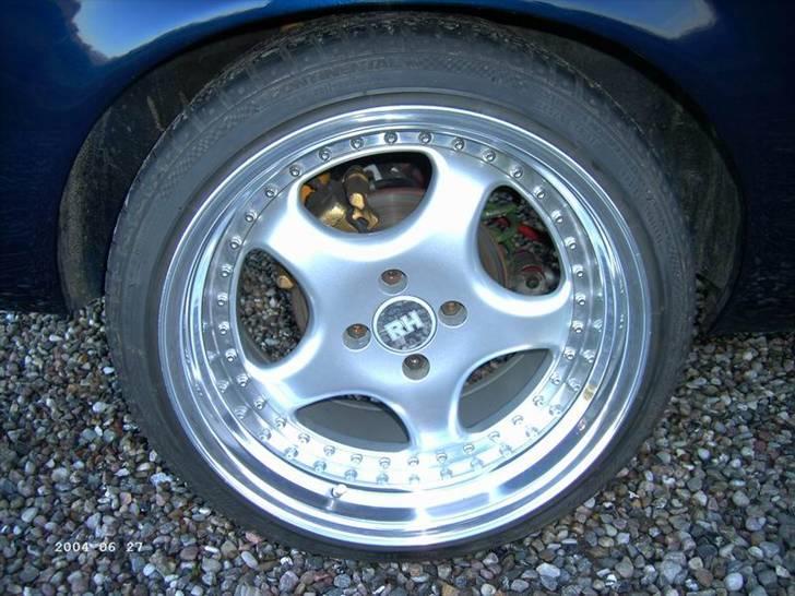 Opel ascona b c20let turbo - 10X17 RH ZW1 OG SKIVBREMSER I BAG, MAND KAN LIGE SE AT DER ER PU BØSNINGER I BAGTØJ billede 5