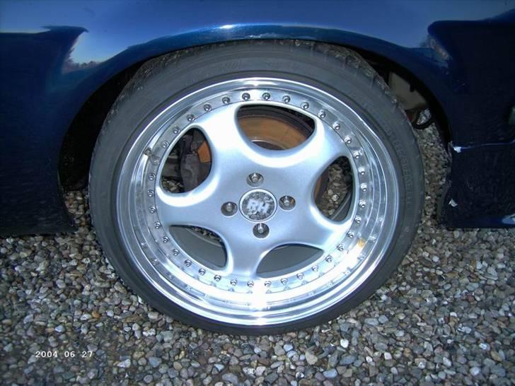 Opel ascona b c20let turbo - 9x17 RH ZW1 OG VENTILERET SKIVER I FOR billede 6