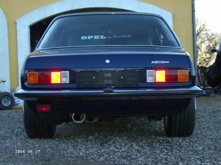 """Opel ascona b c20let turbo - DE 245 BAGDÆK PÅ 10"""" FÆLGE FYLDER DA LIDT billede 10"""