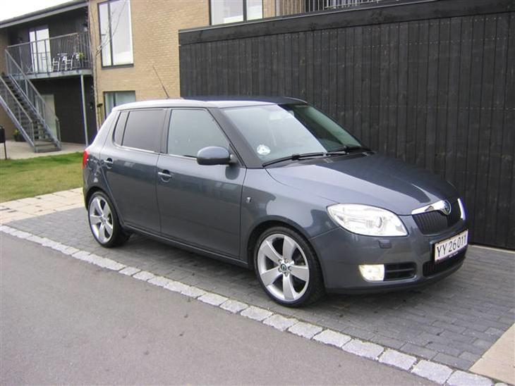 skoda fabia ii 1 9 tdi pd 2008 billederne er taget den 19. Black Bedroom Furniture Sets. Home Design Ideas