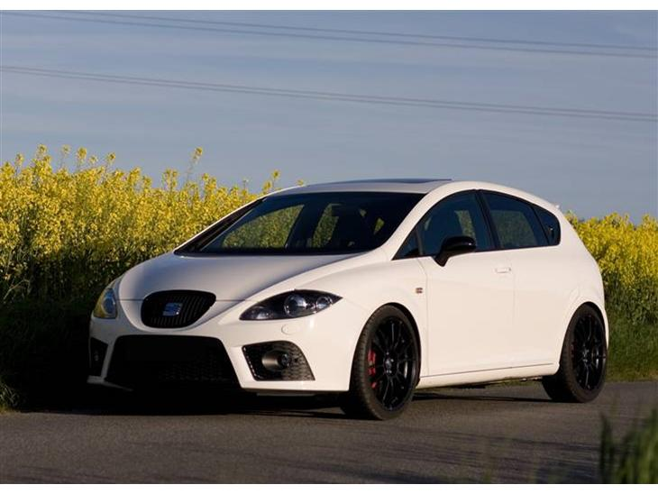 seat leon cupra 2008 farve candy white solgt. Black Bedroom Furniture Sets. Home Design Ideas