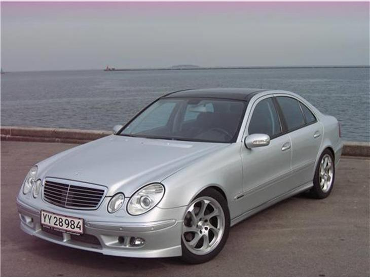 Mercedes benz e 320 cdi v6 2005 for Mercedes benz v6