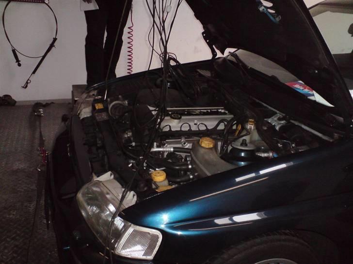 Ford Escort RS Cosworth Martini - På feltet ved Euromaster i Viborg med FKD billede 19