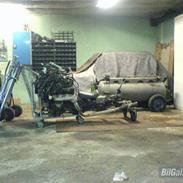 Mazda 929 lavet om til trike