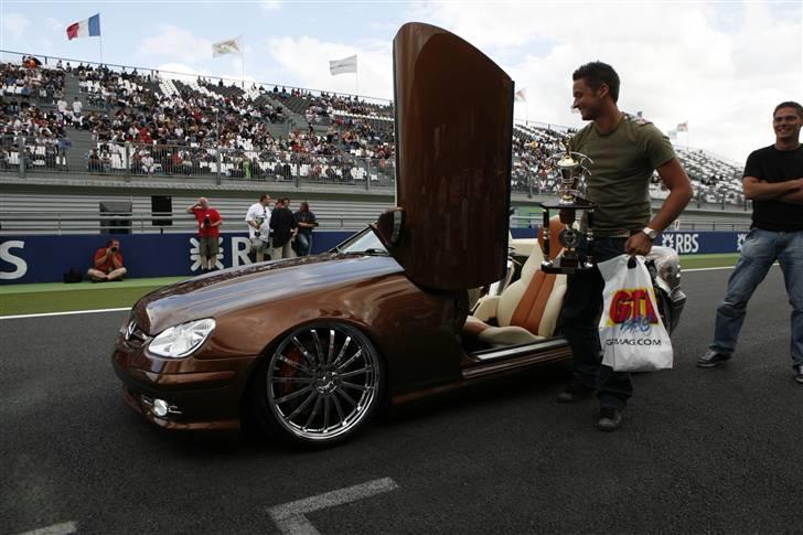 """Mercedes Benz SLK """"Custom""""  - Præmieoverrækkelsen til GTI Tuning International 2008 billede 8"""