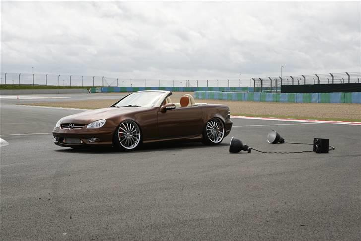 "Mercedes Benz SLK ""Custom""  - Fotosession med GTI MAG France billede 11"