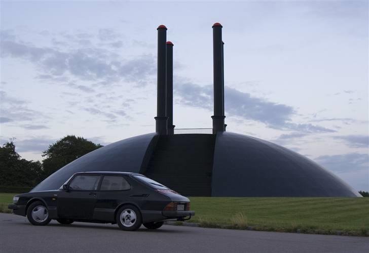 Saab 900 Aero - Sælges :/ - Ja der mangler et stykke af Aero sættet (Har det liggende), men så kan man da i hvert fald kende bilen :P billede 3