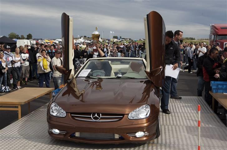 """Mercedes Benz SLK """"Custom""""  - Som første dansker nogensinde tog jeg """"Best In Show"""" prisen på Vallåkra Träffen 2008! billede 17"""