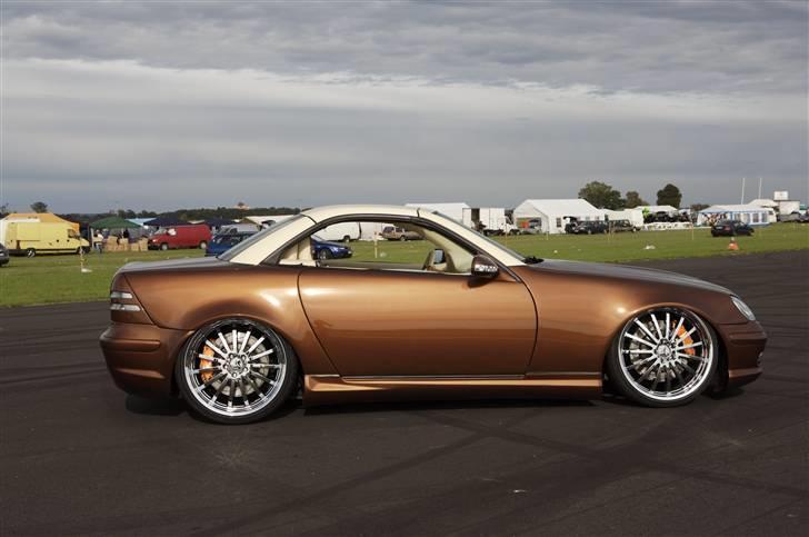 """Mercedes Benz SLK """"Custom""""  - Den bliver ikke grimmere med tag på. billede 19"""