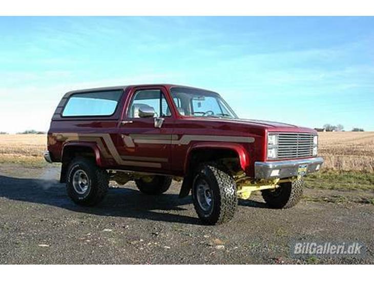 Chevrolet Blazer K5 Silverado 1981 Bilen Er Kanon Fed At Kre I