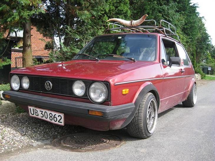 VW Golf 1 1.6gtd TIL SALG - 1981 - planen er at holde den shitbo...