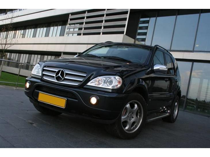 Mercedes benz ml brabus d8s 2003 denne ml 400 cdi er for Mercedes benz text