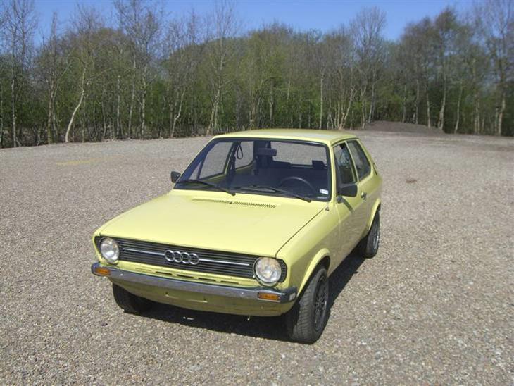 Audi 50 LS *RETRO* - 1976 - Kommende projekt. Skal have ...
