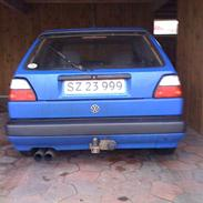 VW Golf 2 SKROTTET